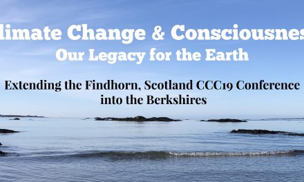 Climate Change and Consciousness: Now is our time! Editor's column by Jennifer Browdy