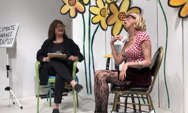 Climate Change & Consciousness Community Reading, Deb Koffman's Artspace, Housatonic MA, April 16, 2019